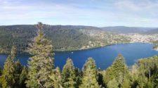 Lac Gérard mer dans les Vosges