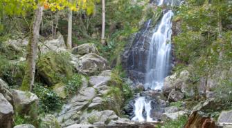 Cascade du Tendon dans les Vosges