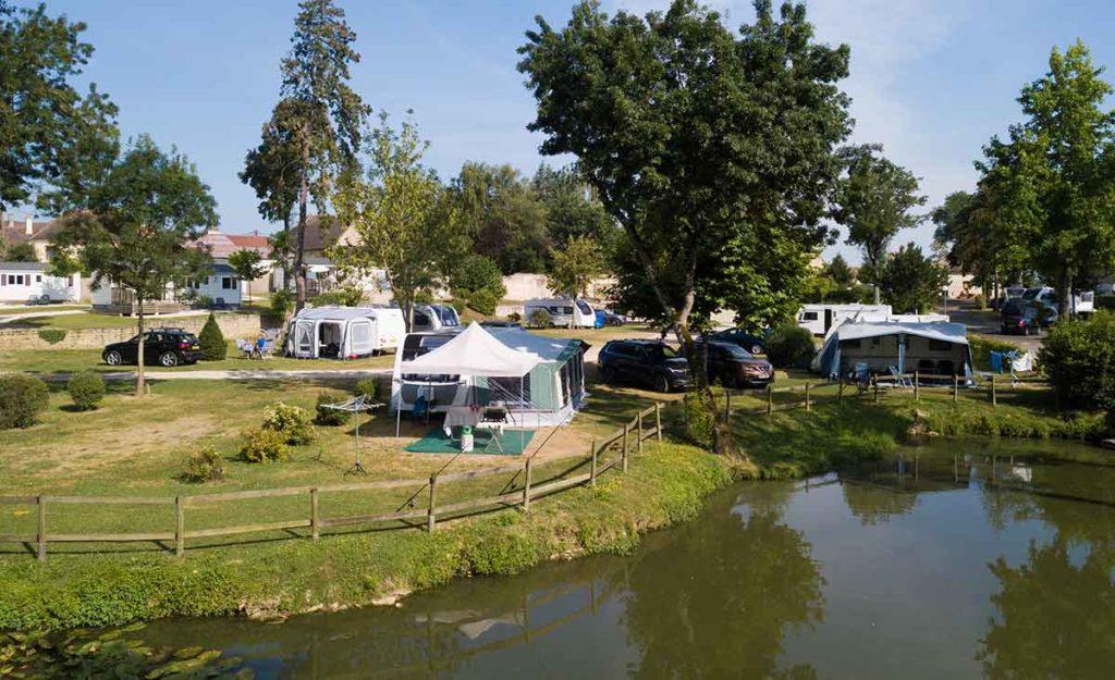 Camping en Bourgogne