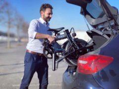 Vélo électrique pliable - Caravane, tente, camping-car