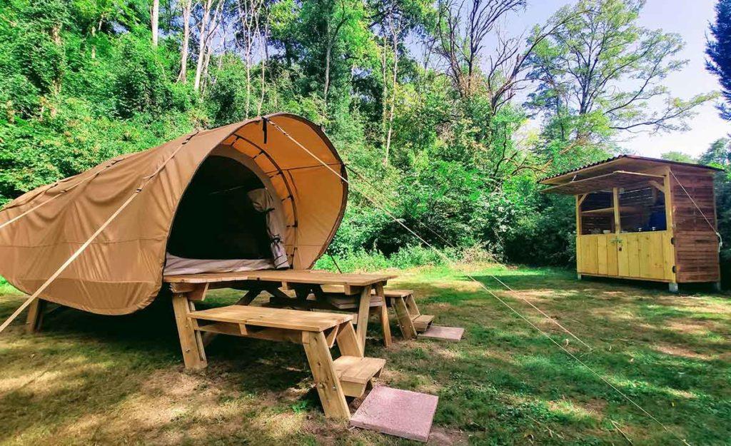 Camping en Gironde