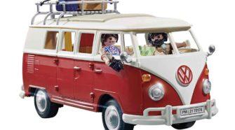 Combi VW T1 par Playmobil