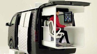 Van pour le télétravail chez Nissan