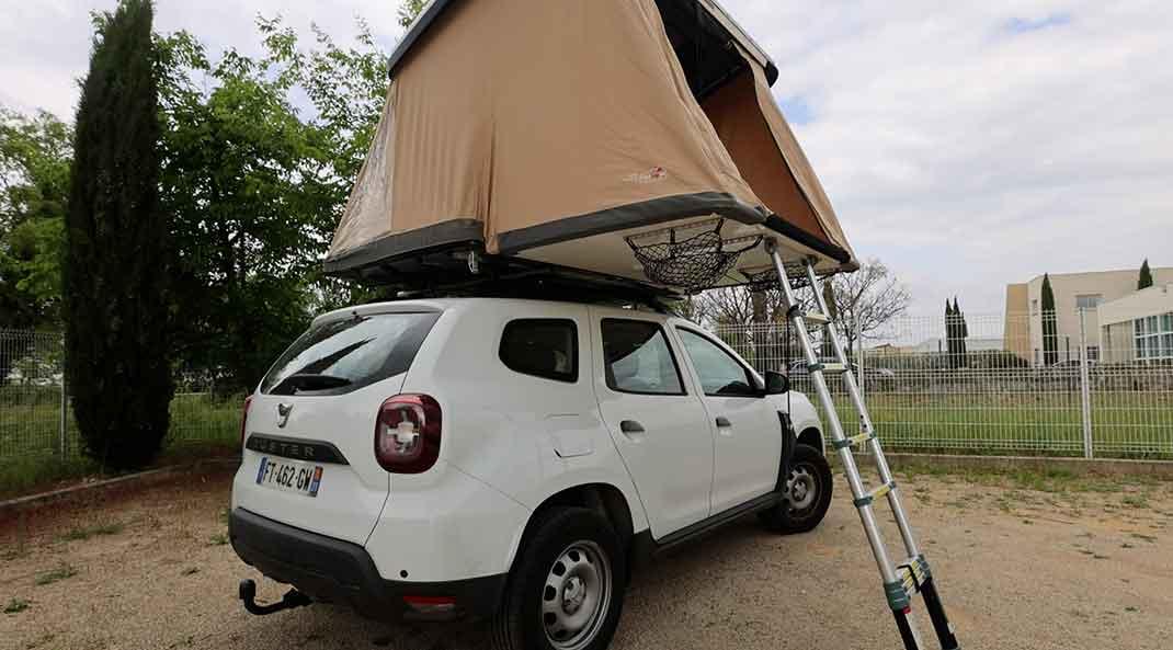 Tente de toit Quatro NaitUp